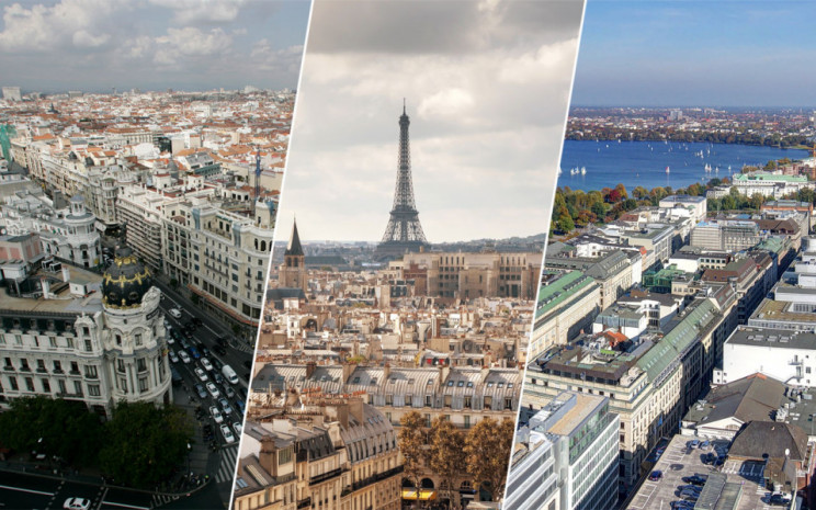 Madrid y Barcelona se cuelan entre las 10 mejores ciudades europeas para invertir en ladrillo en 2020